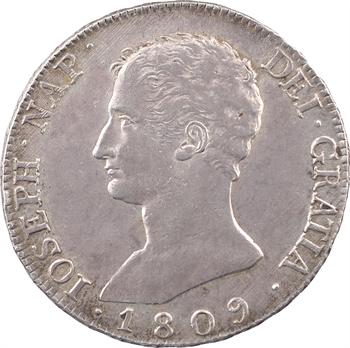 Espagne, Joseph Napoléon, 20 réaux, 1809 Madrid
