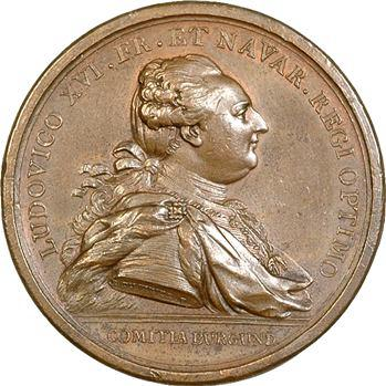 Louis XVI, le canal du Centre (Loire-Seine), 1783 Paris