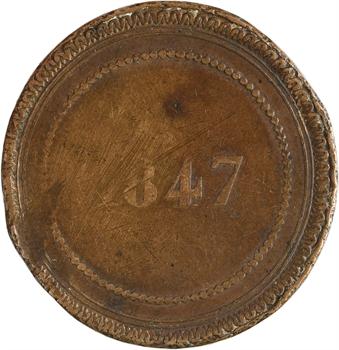 Monaco, Florestan Ier, essai au module de 10 centimes, 1847
