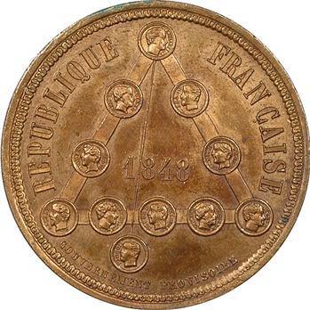IIe République, le Gouvernement Provisoire (Ferdinand Flocon), 1848 Paris