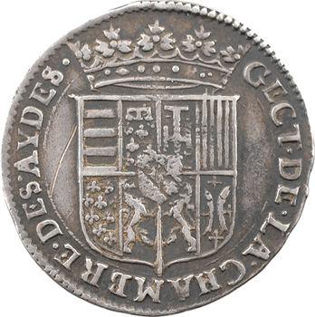 Lorraine (duché de), Henri ou Charles IV, jeton de la Chambre des Aides, 1624 Nancy (ex. collection Trampitsch)