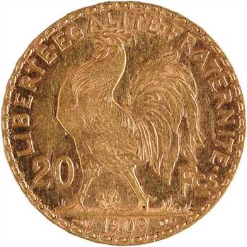 IIIe République, 20 francs Marianne, 1902 Paris
