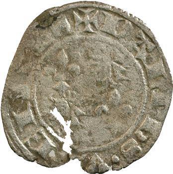 Dauphiné, Viennois (dauphins du), Charles Ier, double denier, s.d.