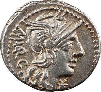 Vargunteia, denier, Rome, 130 av. J.-C.
