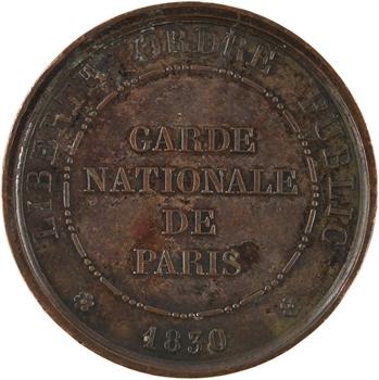 Louis-Philippe Ier, Garde Nationale de Paris, Conseil de Famille, 1839