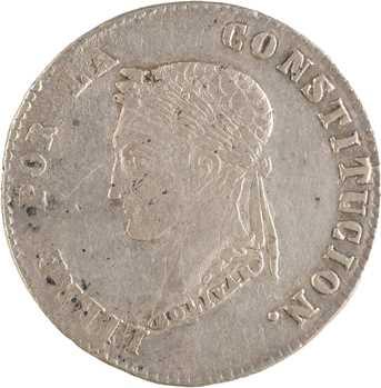 Bolivie (République de), 4 soles, 1857 Potosi