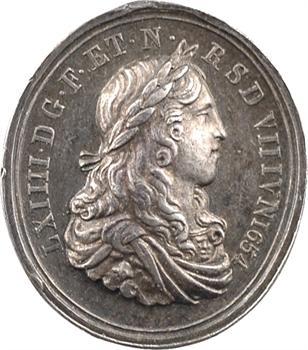 Louis XIV, sacre à Reims le 7 juin 1654, 1654 [postérieur ?] Paris