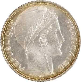 IIIe République, 20 francs Turin, 1937 Paris