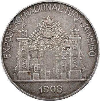 Brésil, Exposition internationale de Rio de Janeiro, 1908
