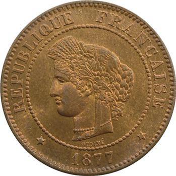 IIIe République, 5 centimes Cérès, 1877 Paris