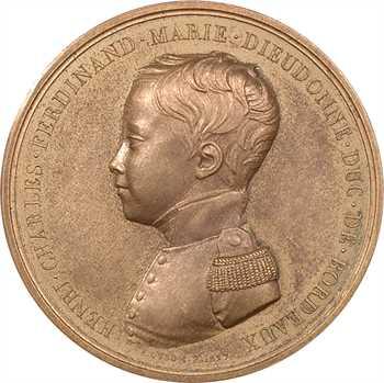 Duchesse de Berry et duc de Bordeaux par Dubois, 1827 Paris