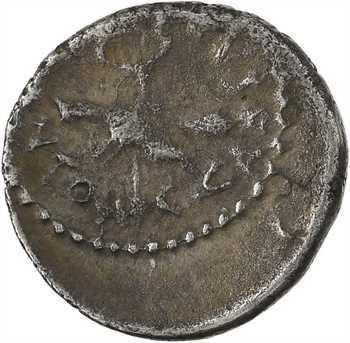 Octave et Marc Antoine, quinaire, Gaule, 39 av. J.-C.