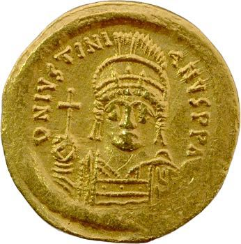 Justinien Ier, solidus, Rome, 527-565