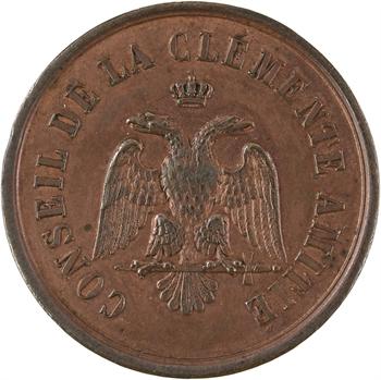 Orient de Paris, Loge de la Clémente Amitié, 5834 (1834) Paris