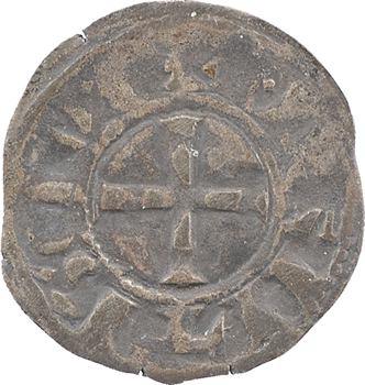 Bretagne (duché de), anonymes sous Constance, Arthur et Guy de Thouars, petit denier, s.d. Nantes