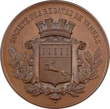Mer : la Société des Régates de Vannes, s.d