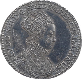 Louis XIII, sacre à Reims le 17 octobre 1610, variété OCTOBER, 1610 Paris