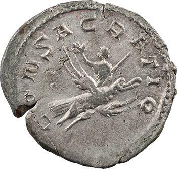 Valérien II, antoninien, Trèves, 258 (consécration de Valérien Ier et Gallien)