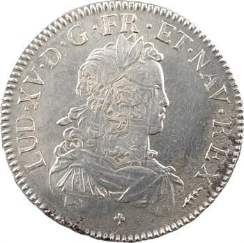 Louis XV, écu de France, 1721 Amiens