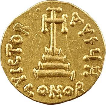 Constant II et Constantin IV, solidus, Constantinople, 8e officine, 654-659
