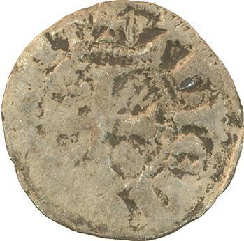 Champagne, Tonnerre (comté de), Éléonore de Savoie, denier 1er type, s.d. (1305-1308) Tonnerre