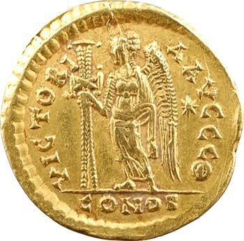 Basiliscus, solidus, Constantinople, 9e officine, 475-476