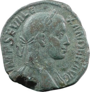Sévère Alexandre, sesterce, Rome, 234
