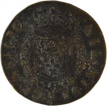 Henri III, sacre à Reims le 13 février 1575, jeton du Conseil du Roi, 1575 Paris