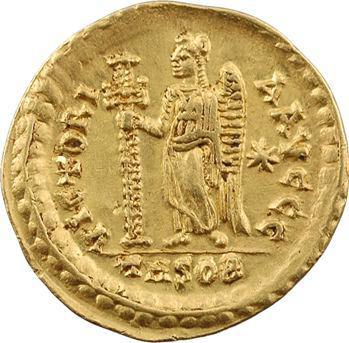 Basiliscus, solidus, Thessalonique