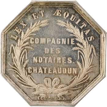 IIIe République, Compagnie des notaires de Chateaudun, s.d. Paris