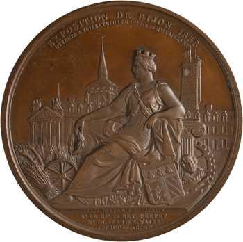 Second Empire, Exposition de Dijon, par Caqué et Domard, 1858 Paris