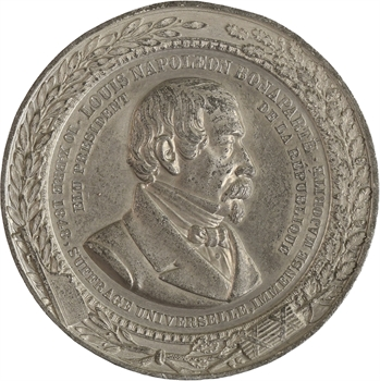 IIe République, Louis-Napoléon Bonaparte, élu président au suffrage universel,  1848 Paris