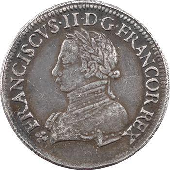 François II, sacre à Reims le 17 septembre 1559, 1559 [frappe postérieure] Paris