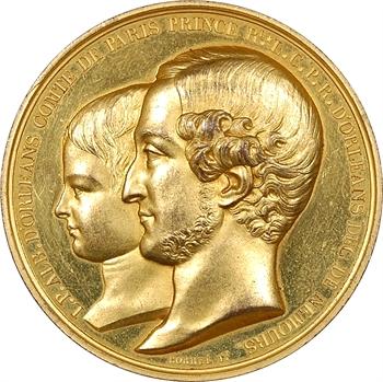 Louis-Philippe Albert d'Orléans et Louis Charles Philippe d'Orléans, 1842 Paris