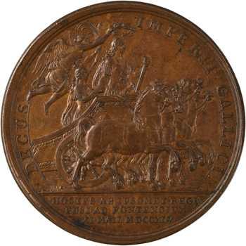 Louis XV, la bataille de Fontenoy, 1747 Paris
