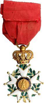 France, IIe République, Légion d'Honneur en or