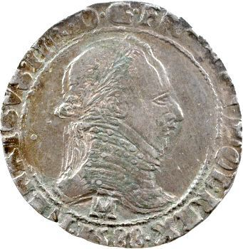 Henri III, demi-franc, 1588 Toulouse