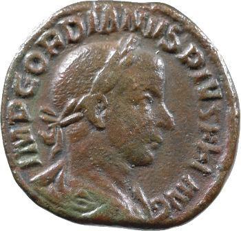 Gordien III, sesterce, Rome, 240-243