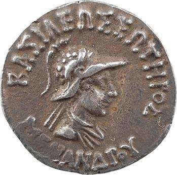 Bactriane, Ménandre, drachme, c.160-140 av. J.-C.