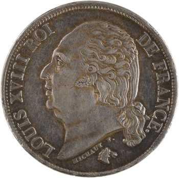 Louis XVIII, 2 francs, 1816 Paris