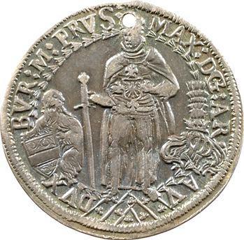 LOT RETIRÉ : Allemagne (Empire), Maximilien archiduc, jeton argent, s.d. (1493-1