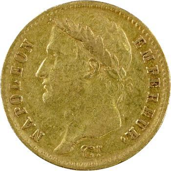 Premier Empire, 20 francs République, 1808 Toulouse