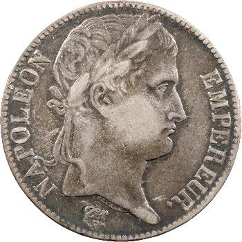 Cent-Jours, 5 francs Empire, 1815 Paris