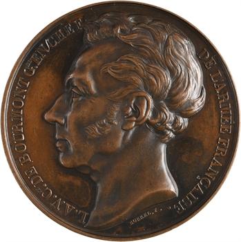 Algérie, conquête d'Alger, le comte de Bourmont, général, 1830 (c.1846) Paris