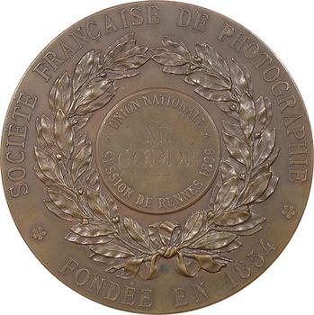 IIIe République, Rennes, invention de la photographie, Niepce et Daguerre, par Soldi, 1899 Paris