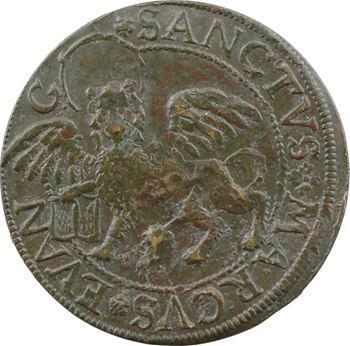 Nuremberg, jeton de compte au lion de Saint-Marc, s.d. (XVIe s.)