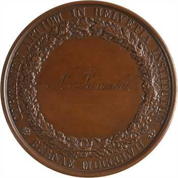 Suisse, Berne, prix d'Exposition Artistique, par Bovy, 1857