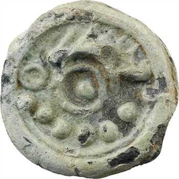 Suessions, potin au sanglier, classe I, c.60-30 av. J.-C
