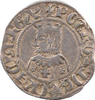 Espagne, Barcelone, Pierre III, gros, s.d. Barcelone