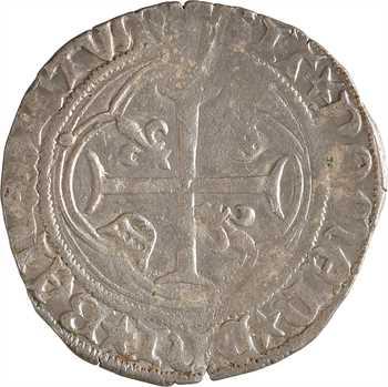 Louis XII, grand blanc à la couronne, Amiens